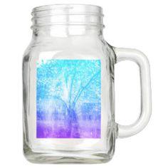 Vernal Tree Mason Jar