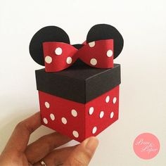 Minnie Mouse Explosion Box // Minnie Exploding Box // Disney Explosion Box…