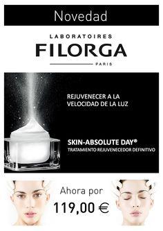 Ven a conocer FILORGA SKIN-ABSOLUTE DAY® el tratamiento #antienvejecimiento #rejuvenecedor definitivo.