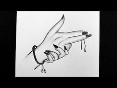 How To Draw Finger Gun || How to Draw Girl Hand || Pencil Sketching || Pencil Shading