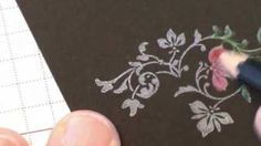 Black Magic Stamping Technique (with a Twist), via YouTube.