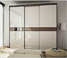 Image result for glass wardrobe door designs for bedroom indian