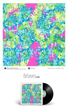 My PinkYellowBlue pattern design. Rapport by Begoña Fumero #Befumero @Befumero /// https://www.behance.net/bfumero#