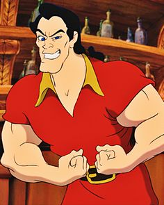 Watch Gaston Destroy a Disney World Guest in a Push-Up Contest