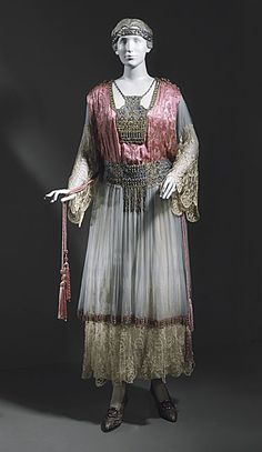 1913 Callot Soeurs dress