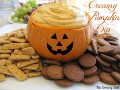 Creamy Pumpkin Dip (with cream cheese instead of cool whip)