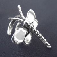 LWSilver - Dragonfly Ring. #jewellery #LWSilver #handmade #silver #ring #dragonfly