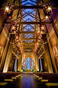 Very nice wedding venue. Marty Leonard Community Chapel in Fort Worth, Texas #fort worth wedding chapel