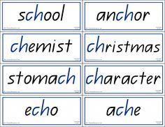 Phonics Words