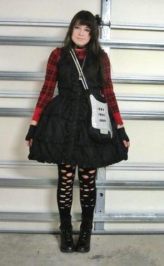 daily_lolita: First Time Punk Lolita +1