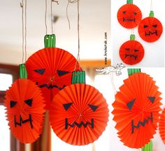 paper lanterns for Halloween & other halloween krafts