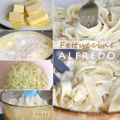 Easy Fettuccine Alfredo Recipe - Pasta  Sauce - Eugenie Kitchen