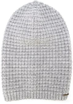 $43, Bark Knitted Beanie. Sold by farfetch.com. Click for more info: https://lookastic.com/men/shop_items/315091/redirect