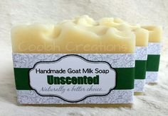 The soap that started it all.  The creamy,  bubbly,  gentle goodness that is untainted goat milk soap.  Nothing but oils and milk in these beauties  <3 4 years on and still my favorite soap...  3 of these heating out to a new customer today!  Hope she loves them as much as me!!  #CoolahCreations #handmade #goatsmilk #soap #goatmilksoap #australianmade #madeinmelbourne #supportsmallbusinesses #wahm #natural #eczema #psoriasis #skin