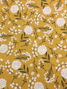 Nice Pretty Ginko /& Various Leaf Print multi on tan Fabric by Jo-Ann Stores