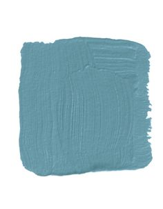 "Oyster Bay SS61 by Ralph Lauren Paint    ""Take this incredible turquoisey blue-green, like you'd see on a cloisonné vase, and paint it on the reverse side of glass. Then use it as a tabletop. You have the effect of color, once removed — even the most color-phobic will usually go for it. And it looks so glossy and deep. Absolutely ravishing."" -Peter Dunham"