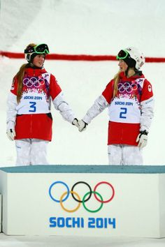 The Dufour-Lapointe sisters!