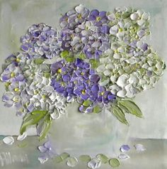 Hydrangea painting - Google Search