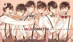 Osomatsu-san- Osomatsu, Karamatsu, Choromatsu, Ichimatsu, Jyushimatsu, and Todomatsu #Anime「♡」Sweet Boys