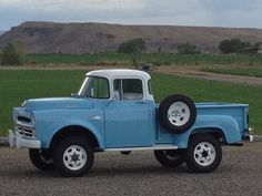 1957 Dodge Pick Up Truck. Maintenance/restoration of old/vintage vehicles: the material for new cogs/casters/gears/pads could be cast polyamide which I (Cast polyamide) can produce. My contact: tatjana.alic14@gmail.com