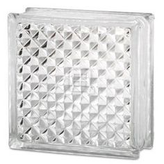 Pittsburgh Corning (110121) Delphi Glass Block 8in x 8in x 3in.--for the shower