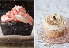Winter Flavored Cupcakes