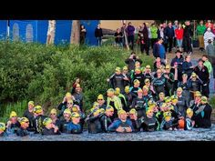 Swim Arctic Circle swimming competition in Pello in Lapland
