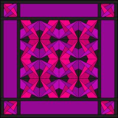 Crazy Amish Quilt w/ instructions and templates