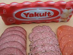 Le Charcutier Anglais - this guy makes salami and uses YAKULT instead of starter culture! Curious enough to try once I've made a successful batch using Acidophilus (commenter suggested 1 bottle per 10kg of meat)