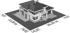 Projekt domu Telmun 2 167,08 m2 - koszt budowy - EXTRADOM Planer, Home Decor, Decoration Home, Room Decor, Home Interior Design, Home Decoration, Interior Design