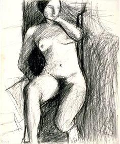 Richard Diebenkorn - greatest inspiration for my figurative work.