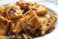sweet and spicy tofu recipe