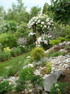 Jardin for Amenagement jardin en pente