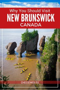 New Brunswick, Canada has dramatic landscapes, charming cities and towns, and friendly people. Yet it's an underrated tourist destination. We share why you should care about this Maritime Province. Canada Cruise, Canada Trip, Fredericton New Brunswick, East Coast Canada, Ontario, Places To Travel, Places To Visit, Travel Stuff, Travel Destinations