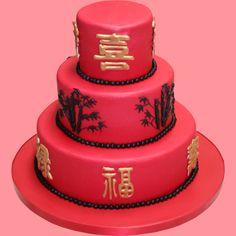 Chines Wedding cake by Kathy Dvorski Cakes