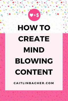 Want to finally figure out the secrets to creating content your audience can't wait to read? Read this immediately. | http://caitlinbacher.com