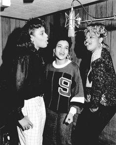 hiphop-in-the-brain: Salt-N-Pepa (1988) by Al... - Hip-Hop was better before...