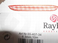 Nieuw bij Knutselparade: Rayher lint 3,6 mm oranje 10 meter 55 407 34 https://knutselparade.nl/nl/versieringen/6332-rayher-lint-36-mm-oranje-10-meter-55-407-34.html   Scrapbook, Scrapbookversieringen, Versieringen, Lint -  Rayher