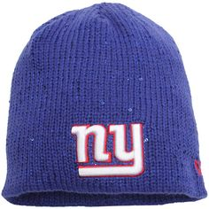 def65ec170e New York Giants New Era Women s Glistner Redux Knit Beanie - Royal -  25.99 New  York
