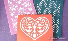 Cómo hacer tarjetas de cartulina caladas Blog, Diy, Ideas, Paper, Creative Decor, Creativity, Nature Decor, Card Stock, Recycling