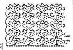 Ажурная маечка с мотивом | Вязание для женщин | Вязание спицами и крючком. Схемы вязания.
