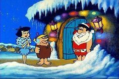 Christmas with the flinstones