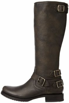 Amazon.com: FRYE Women's Veronica Back Zip Boot: Shoes
