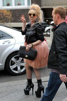 Lady Gagas London fashions