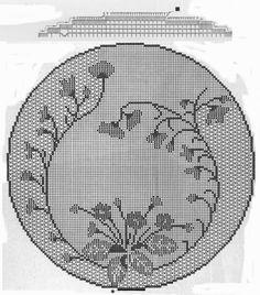 Crochet: Tablecloths round