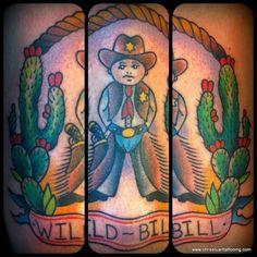Wild Bill / cowboy / cactus tattoo by Chris Stuart www.chrisstuarttattooing.com www.facebook.com/chrisstuarttattooing Instagram: @chrisxempire Chrisstuarttattooing@gmail.com Ace Tattoos, Charlotte,NC