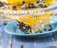 6 receitas com bolacha maria Biscuits, Coco, Cereal, Pudding, Breakfast, Desserts, Tailgate Desserts, Cook, Back Fat