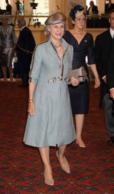 Princess Brigitte, The Duchess of Gloucester and her daughter-in-law Claire, The Countess of Ulster.
