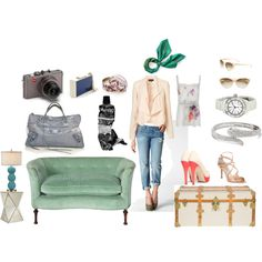 Turquoise, created by ipeachlady on Polyvore