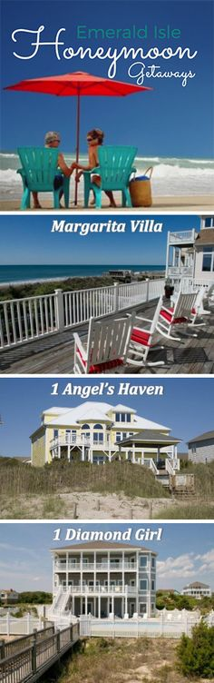 """Honeymoon on the Crystal Coast after you say """"I Do"""". With breathtaking sunsets, peaceful oceanside communities, and all the activities that make beach vacations the best, it's the perfect place to celebrate your wedding!"""